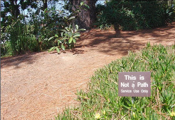 This is not a path.
