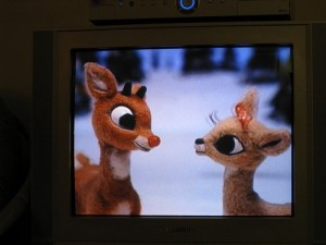 Rudolph and his lady friend (by voteprime, Flickr)