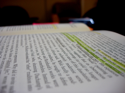 marginalia_book_writing_lecture by hyperscholar (Flickr)