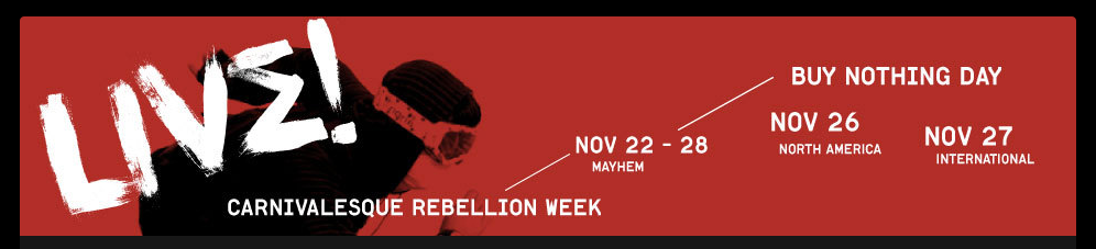 Carnivalesque Rebellion Week